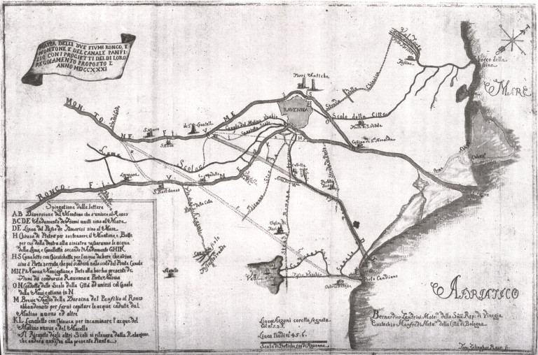 Mappa di Zendrini